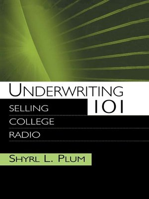 cover image of Underwriting 101