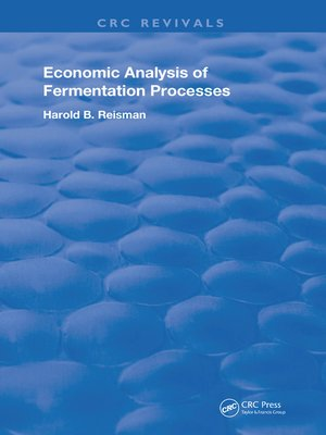 cover image of Economic Analysis of Fermentation Processes