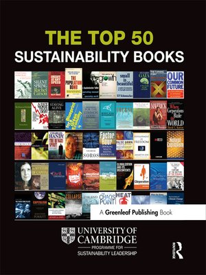 cover image of The Top 50 Sustainability Books