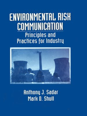 cover image of Environmental Risk Communication