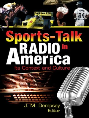 cover image of Sports-Talk Radio in America