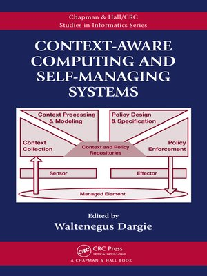 cover image of Context-Aware Computing and Self-Managing Systems