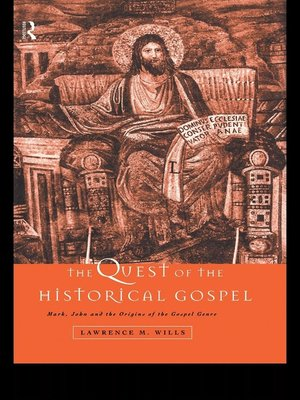 cover image of The Quest of the Historical Gospel