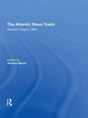cover image of The Atlantic Slave Trade