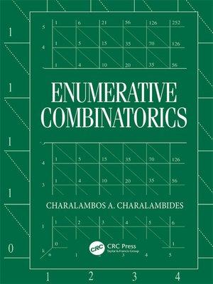 cover image of Enumerative Combinatorics