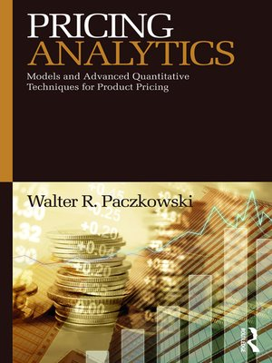 cover image of Pricing Analytics