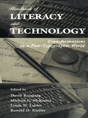 cover image of Handbook of Literacy and Technology
