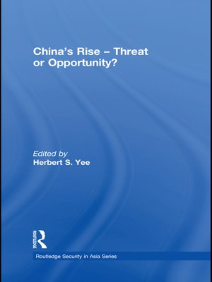 cover image of China's Rise--Threat or Opportunity?