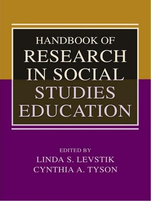 cover image of Handbook of Research in Social Studies Education