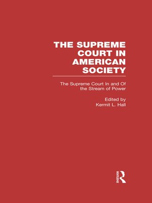 cover image of The Supreme Court In and Out of the Stream of History