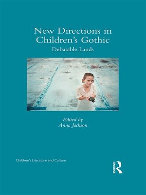 cover image of New Directions in Children's Gothic