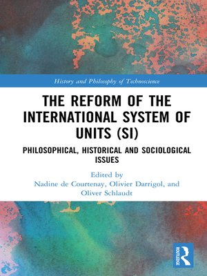 cover image of The Reform of the International System of Units (SI)