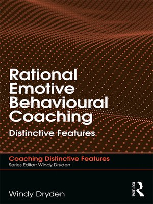 cover image of Rational Emotive Behavioural Coaching