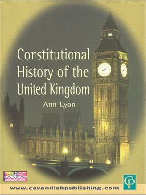 cover image of Constitutional History of the United Kingdom
