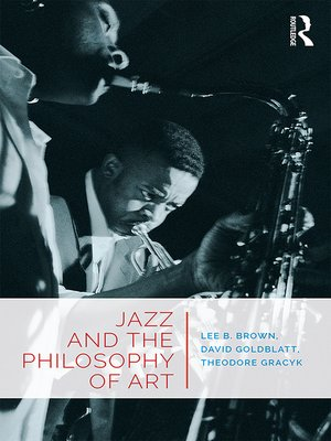 cover image of Jazz and the Philosophy of Art