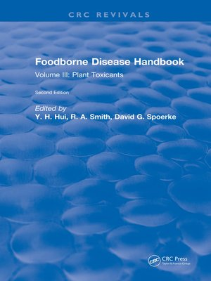 cover image of Foodborne Disease Handbook