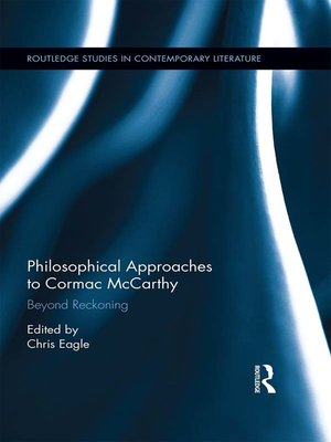 cover image of Philosophical Approaches to Cormac McCarthy