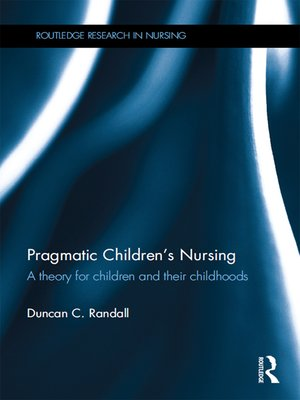 cover image of Pragmatic Children's Nursing