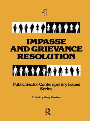 cover image of Impasse and Grievance Resolution