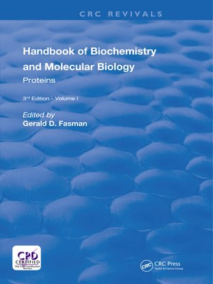 cover image of Handbook of Biochemistry