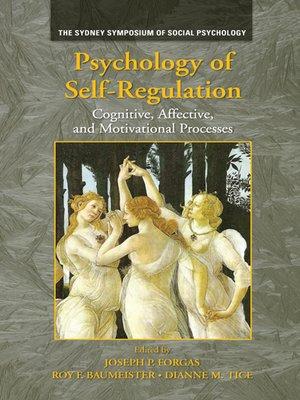 cover image of Psychology of Self-Regulation