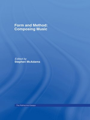 cover image of Form and Method