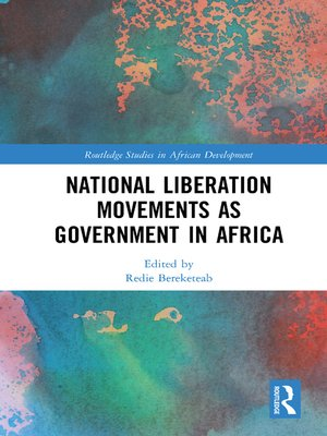 cover image of National Liberation Movements as Government in Africa