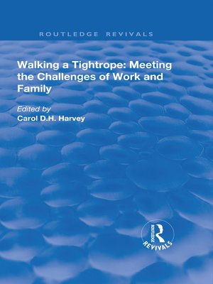 cover image of Walking a Tightrope