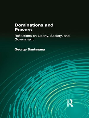 cover image of Dominations and Powers