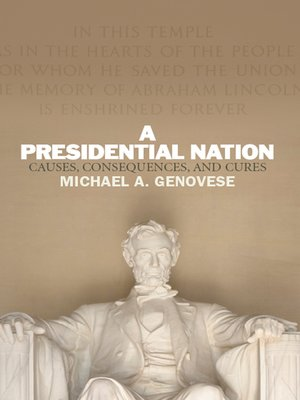 cover image of A Presidential Nation