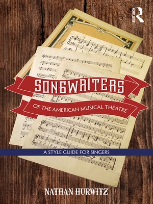cover image of Songwriters of the American Musical Theatre