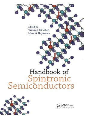 cover image of Handbook of Spintronic Semiconductors