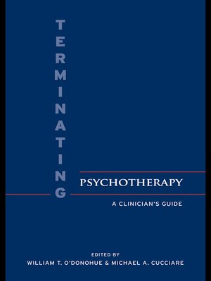 cover image of Terminating Psychotherapy