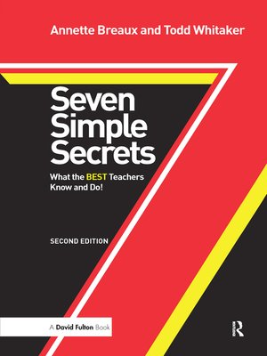 cover image of Seven Simple Secrets