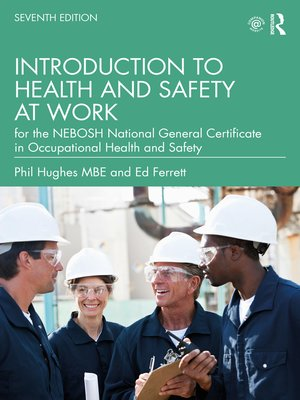 cover image of Introduction to Health and Safety at Work