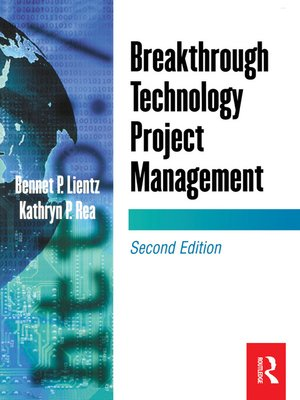 cover image of Breakthrough Technology Project Management