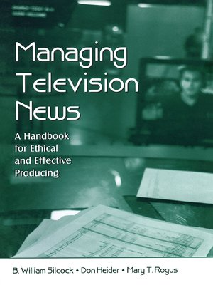 cover image of Managing Television News