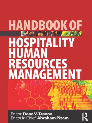cover image of Handbook of Hospitality Human Resources Management