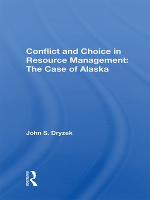 cover image of Conflict and Choice In Resource Management