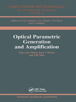 cover image of Optical Parametric Generation and Amplification
