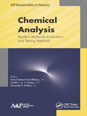 cover image of Chemical Analysis