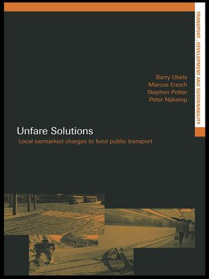cover image of Unfare Solutions