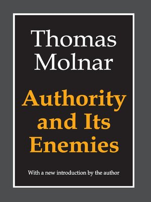 cover image of Authority and Its Enemies