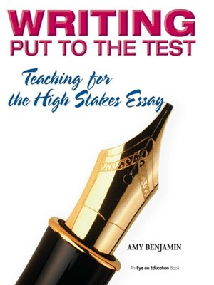 cover image of Writing Put to the Test