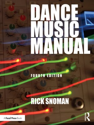 cover image of Dance Music Manual