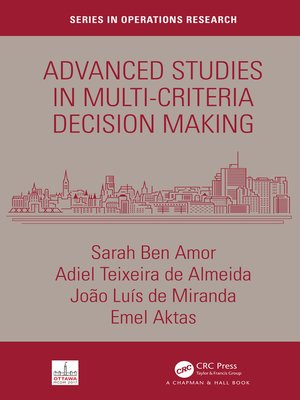 cover image of Advanced Studies in Multi-Criteria Decision Making