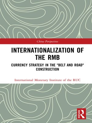 cover image of Internationalization of the RMB