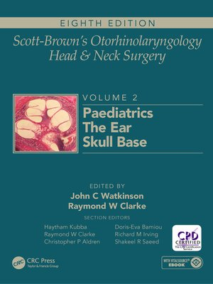 cover image of Scott-Brown's Otorhinolaryngology and Head and Neck Surgery