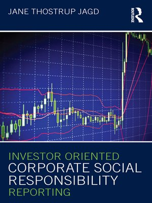 cover image of Investor Oriented Corporate Social Responsibility Reporting