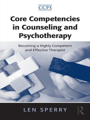 cover image of Core Competencies in Counseling and Psychotherapy